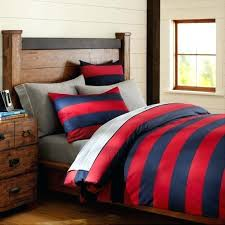 red and white rugby stripe duvet cover rugby stripe duvet cover rugby stripe duvet cover sham