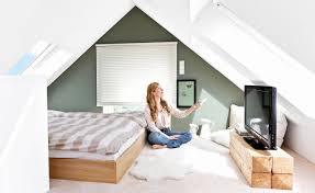 Schlafzimmer Dachschräge Gestalten Einzigartig Wohnideen
