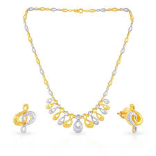 malabar gold necklace set n006 for women malabar gold diamonds