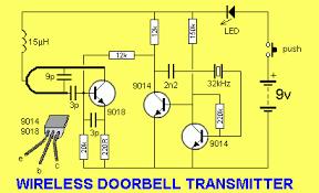 circuit project wireless doorbell eeweb community circuit project wireless doorbell