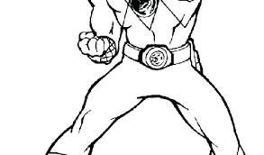 Mighty Morphin Power Rangers Coloring Pages Power Ranger Coloring