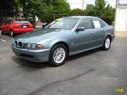 2001 Slate Green Metallic BMW 5 Series 530i Sedan #14213539 ...