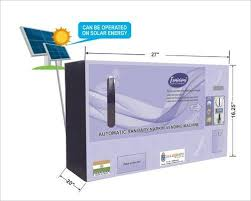 Solar Powered Vending Machine Interesting Sanitary Napkin Vending Machine Automatic Sanitary Napkin Vending