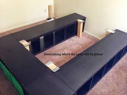 diy platform bed. Expedit Queen Platform Bed Diy