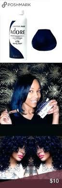 Adore Navy Blue Hair Dye Satin Colour Chart Color Royal Semi