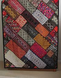 fair trade kuchi tapestry wall hanging 99 50 10 off any with indian fabric