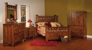 Empire Bedroom Set Shown In Quarter Sawn Oak
