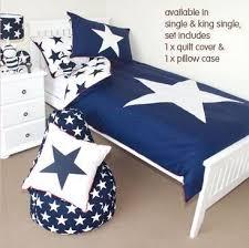 Penny Scallan Navy Star King Single Quilt Cover Set $179 | Bentley ... & Penny Scallan Navy Star King Single Quilt Cover Set $179 Adamdwight.com