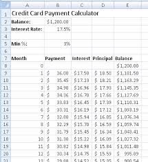 How Are Credit Card Payments Calculated How To Create A Credit Card Payment Calculator