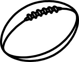 ラグビーボールのイラスト イラストカットcom