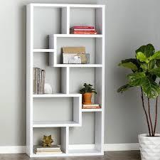 White modern bookshelf Eurway Modern White Bookshelf Bookshelf Modern Modern Bookshelf White Modern Bookshelf Canada Modern White Bookshelf Barrierefreiheitco Modern White Bookshelf White Bookcases For Living Room Bookcase