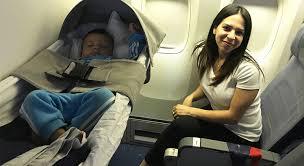 bassinets for lap infants on international flights