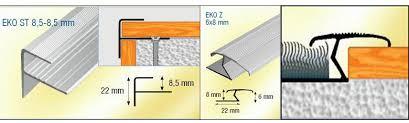 step edging laminate z bar carpet door strip