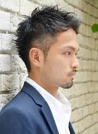 今市隆二風ビジネスツーブロックショートの髪型 Stylistd