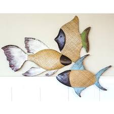 fish wall decor for heights woven grass fish wall decor reviews fish wall decor