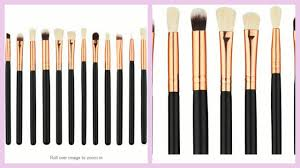 amazon in finds 12 pcs eye makeup brushes under 500