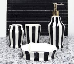 Amazoncom Tuscany Embossed Hand Painted Ceramic 4 Piece Bathroom