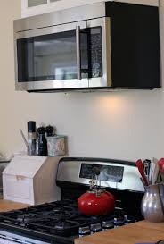 stove with microwave. 4 things i love about my over the range microwave pertaining to contemporary home above stove ideas with