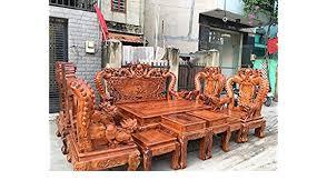Image Japanese Amazoncom Rare Classic Asian Dragon Engraves Furniture Chair Desk Set Solid Wood Home Decor Made Of Rare Burma Padauk Wood 100 Gỗ Hương Kitchen Amazoncom Amazoncom Rare Classic Asian Dragon Engraves Furniture Chair