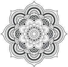 Elephant Mandala Coloring Pages Mandala Coloring Pages Lotus Flower