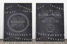 23 creative and unique wedding invitations ~ creative market blog Wedding Invitation Header Quotes chalkboard wedding invitation suite Banner Wedding Invitation