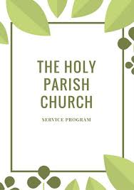 Church Program Template Customize 110 Church Program Templates Online Canva