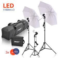 Buy Emart Photography Umbrella Lighting Kit 1575w 5500k