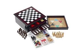 Wooden Board Games Canada As Seen On TV Wooden 10000in100 Game Center FireflyBuys 82