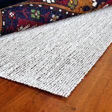 fancy rubber rug pad side up or down natural