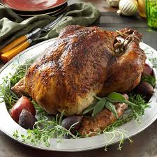 American Test Kitchen Turkey Herb Brined Turkey Recipe Taste Of Home