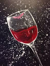 25 unique wine painting ideas on black canvas paintings of wine gl