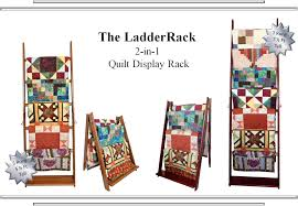 LadderRack Quilt Display Racks &  Adamdwight.com