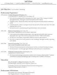 Sample Resume for a Vice President of Marketing