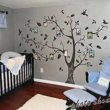photo frame family tree wall decals wall stickers family tree decal nursery wall art  on wall art family tree uk with photo frame family tree wall decals wall stickers family tree decal