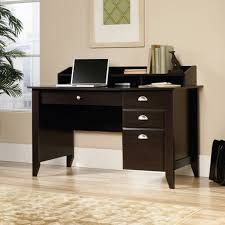 sauder harbor view computer desk with hutch antiqued white within small desk with storage home office furniture set