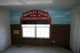 chicago wall decor sports flag