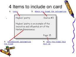 Research Paper Note Card Template The Note Card System