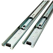 Home Depot Metal Cabinets Liberty 18 In Full Extension Ball Bearing Side Mount Drawer Slide