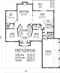 square foot house floor plans bedroom story double stairs plan 1400 1 000 floors