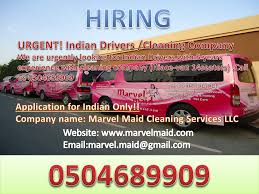 Cleaning Company Jobs Job Offered For Drivers Cleaning Company Jobs Dubai City