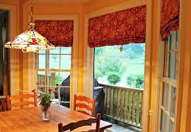 image of elegant kitchen curtains valances
