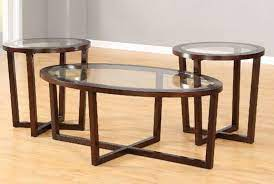 chelsea coffee table set brown home