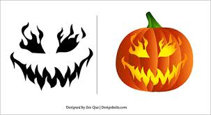 Pumpkin Carving Patterns Cool Halloween 48 Free Scary Pumpkin Carving Patterns Ideas Stencils