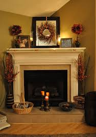 Perfect Fall+decorating+ideas | Perfect Example Of This Is The Decorations On My  Mantle Design