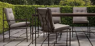 restoration outdoor furniture. as someone very familiar with patio furniture lines i ordered through the restoration hardware trade program assuming quality would be good outdoor c