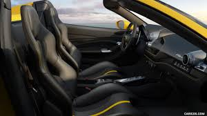 It is a car with unique characteristics and, as its name implies, is an homage to the most powerful v8 in ferrari history. 2020 Ferrari F8 Spider Interior Seats Hd Wallpaper 9
