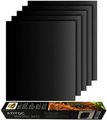 atiyoc BBQ Grill Mat, Non-Stick and Heat Resistant ... - Amazon.com
