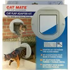 catmate cat flap glass wall adapter kit pm361