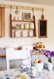 Small Picture BD12311 Wall mounted shelf unit in kitchen of Oxford