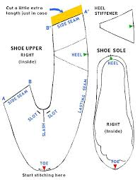 Shoe Pattern Awesome Simple Shoe Pattern Shoes Design